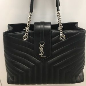 Brand New Black YSL medium bag